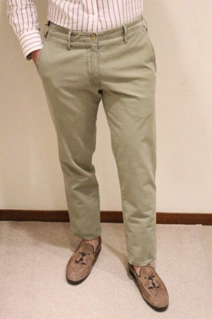 MMX Cotton Stretch Pants Spring Green