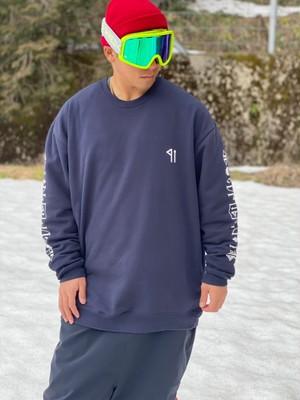 クルーネック パイル袖qri    |    XXXL-size
