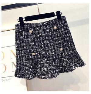 ♡フレアツイードスカート