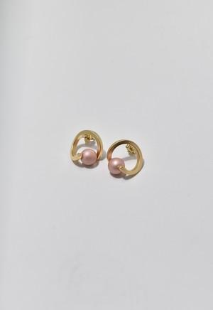 spiral pierce Coral Pink