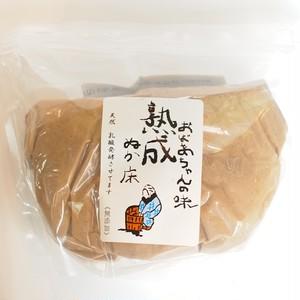 生ぬか床1kg 国産原料のみ調合済(チャック付袋が漬物容器として使える)賞味期限2019.06