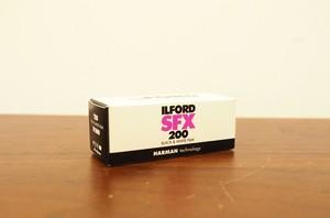 【 120 モノクロネガ 】ILFORD( イルフォード ) SFX200