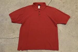 USED 00s patagonia Polo shirt Red -Medium 0958