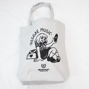 REGGAE GIRL トートBAG  Light Gray