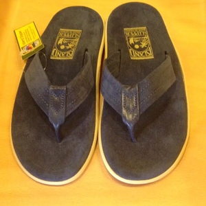 ISLAND SLIPPER / アイランドスリッパ | ISLAND PRO SANDAL PT203SL - NAVY SUEDE LEATHER