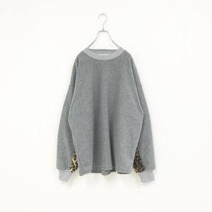 PULLOVER FLEECH SHIRT(LEOPARD)