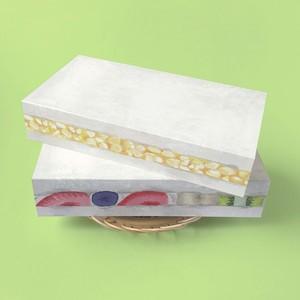 たまごサンドイッチ&フルーツサンドイッチカードのセット