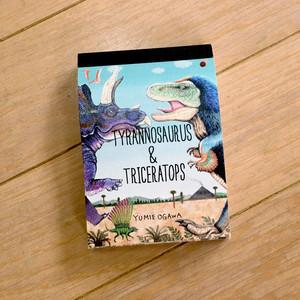 パラパラメモTube(R) 「TYRANNOSAURUS & TRICERATOPS編」