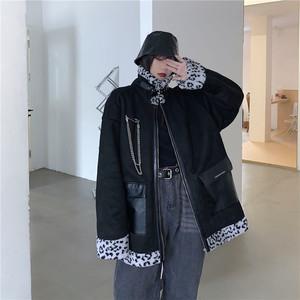 【アウター】 バルーン袖 ユニセックス ゆったり カジュアル モード系 冬