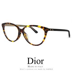 Dior レディース メガネ montaigne33f-086 眼鏡 Christian Dior フォックス キャットアイ