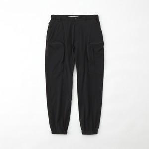TECH CARGO PANTS - BLACK