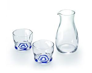 酒器セット 馴染みグラス2 カラフェ1 44SP23‐08