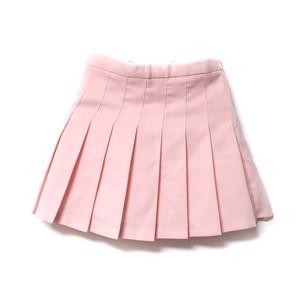 pastel pink tennis skirt