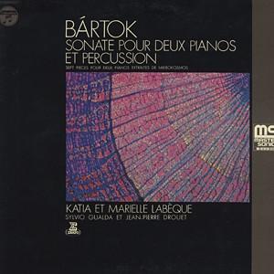 BARTOK  - 二台のピアノと打楽器のためのソナタ、他