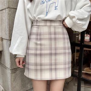 【お取り寄せ商品】チェックミニスカート 9905