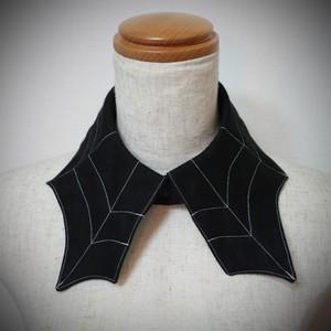 付け襟*蜘蛛の巣