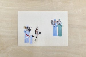 Post Card《Ueno Ouka | 医者と漁師#3》
