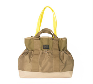 MIS-1036 MULTI POCKET TOTE BAG_COYOTE TAN