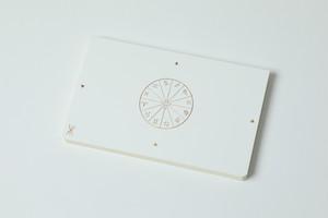 「超」結果手帳《プレミアム版》白(透明カバー付き)