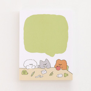 [PERMS]  Joy of Conversation メモパッド