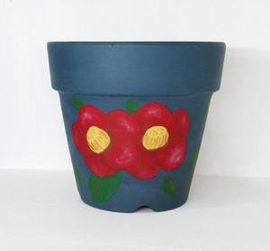 植木鉢 椿