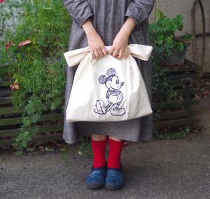 【人気です!】ミッキーマウスデザインのマルシェバッグ付き!nesno無添加化粧水と保湿ゲルのコフレ限定!お得なセット