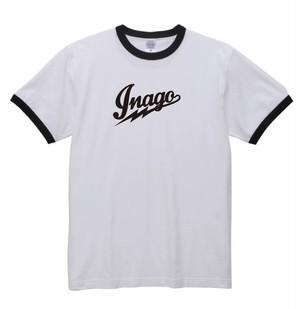 【体操服 】鉄乃蝗 inago 白/黒 (size:S)