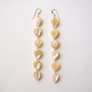 -14kgf- Beige shell heart