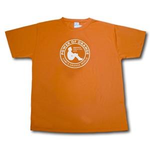 「オレンジの世界」ロゴTシャツ(オレンジ)