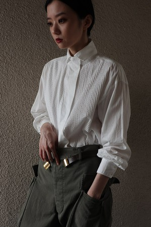 80's cotton blouse