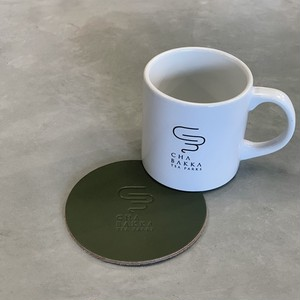 CHABAKKA ORIGINAL leather coaster