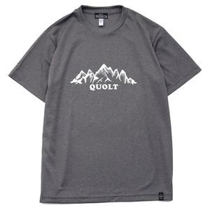 "QUOLT / クオルト |【SALE!!】"" MOUNTAIN "" DRY MESH TEE / ドライメッシュTeeシャツ"