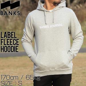 BANKS バンクス LABEL FLEECE HOODIE プルオーバーパーカー WFL0133