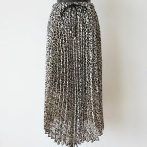 SOUVENIR 花柄シフォンプリーツスカート:SOU-191 ¥22,000+tax
