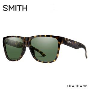 SMITH スミス サングラス Lowdown 2 p65 Vintage Tort / Gray Green lowdown2 メンズ 男性用 ウェリントン