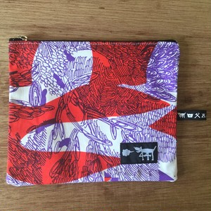 "ミニポーチ mini pouch ""jungle here""A06"