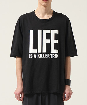 "WIZZARD ""LIFE IS A KILLER TRIP T-SHIRTS""細美武士さん着用モデル"