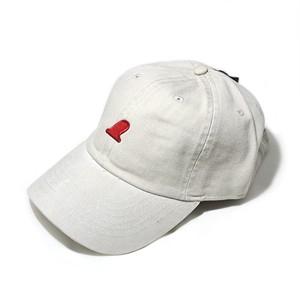 RED FIN CAP - FADE BEIGE