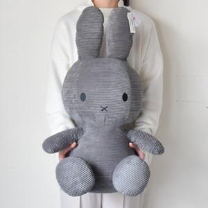 【BON TON TOYS】Miffy Corduroy 70cm ミッフィー コーデュロイ ぬいぐるみ【即納】