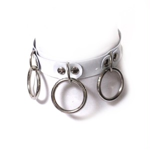 【SHOP BIOHAZARD】Demonia collar white