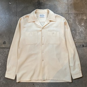 60s PURITAN Wool Shirt / USA