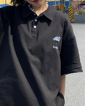 ウェザーロゴポロシャツ