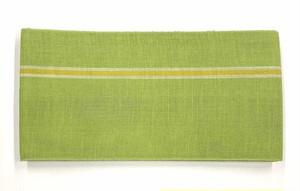 麻半巾帯(黄緑)