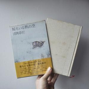 【清岡卓行著『鯨もいる秋の空』】講談社 単行本 絶版