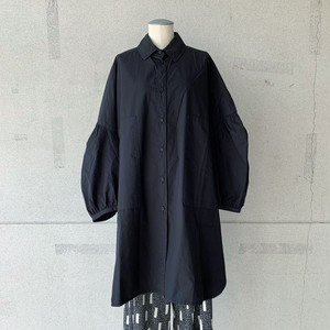 【HENRIK VIBSKOV】MOMENT SHIRTDRESS/BLACK/No.49-5-B