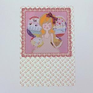 Butterfly Girl◎ポストカード