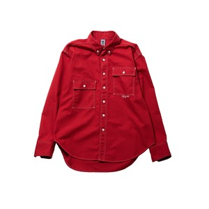 OVER SIZE SHIRT / RED