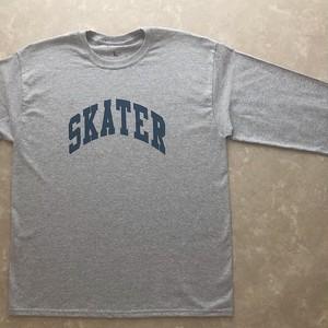 SKATER カレッジロゴロンT