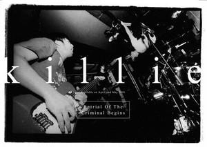【ディストロ】killie「犯罪者が犯した罪の再審始まる」CD(特典:DVD付き)