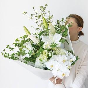 <お盆用花束> 20,000円 贈答用お盆花束を贈る